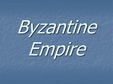 Byzantine Empire. Warm Up - Look at the picture below. In your notebook, describe what you notice about this city. Be specific and explain why you think.