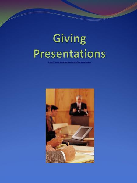 Planning a presentation A good presentation considers the following: audience awareness clear sections of the talk - making a start, finishing off delivery.