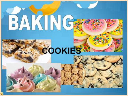 COOKIES. …to cook in dry heat in an oven. The oven heats the air and the hot air cooks the food. Science principle: No lid is used during baking. A lid.