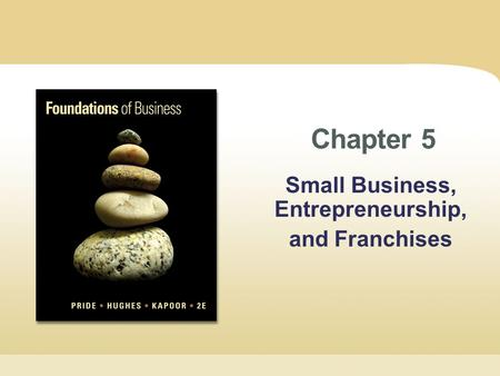 Small Business, Entrepreneurship, and Franchises