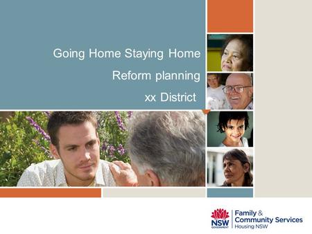 NADA; Can we release the planning guide to RHC, would be useful source of information for Districts to use. Going Home Staying Home Reform planning xx.