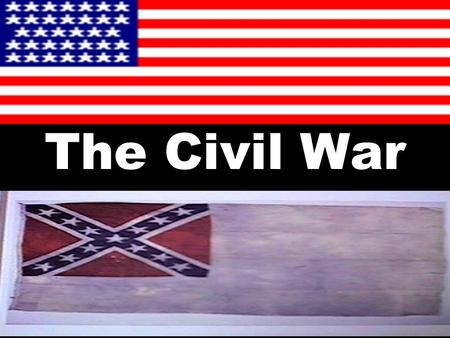 The Civil War. Issues that Divide the Country For years (1850s), the North and South disagreed on issues such as tariffs; distribution of public lands;
