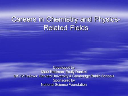 careers in chemistry and its functions Sciencejobsorg ® is an online recruiting and career service for science and research communities sciencejobsorg ® was launched in response to the need to deliver a simple and cost effective way for research-oriented organizations to recruit research scientists and other science related professionals.