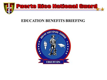 EDUCATION BENEFITS BRIEFING. MONTGOMERY GI BILL SELECTED RESERVE (CHAPTER 1606) ELIGIBILITY ENLIST, REENLIST, OR EXTEND TO HAVE SIX YEARS OBLIGATION IN.