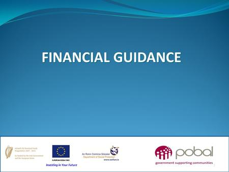 FINANCIAL GUIDANCE.