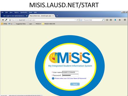 MISIS.LAUSD.NET/START. YOU NEED 'SECONDARY ATHLETIC DIRECTOR ACCESS'