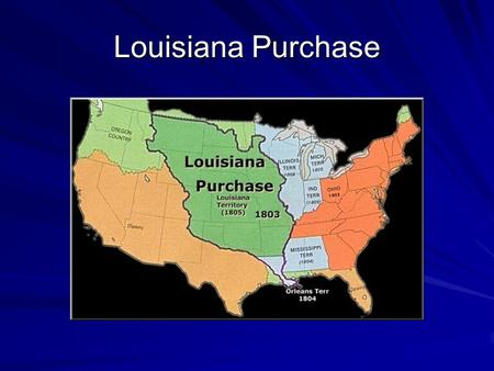 Louisiana Purchase. What does this insect have to do with the Louisiana Purchase?