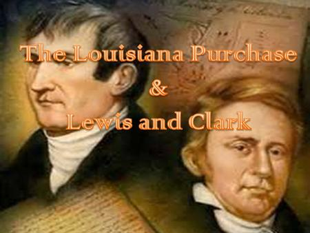 President Thomas Jefferson made the Louisiana Purchase. – Jefferson went against his own principle of strictly interpreting the Constitution to buy the.