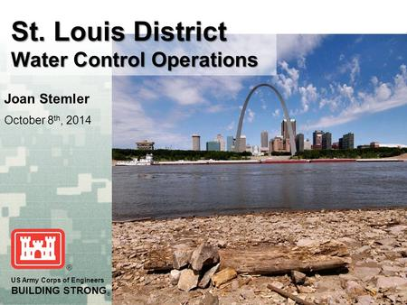 St. Louis District Water Control Operations