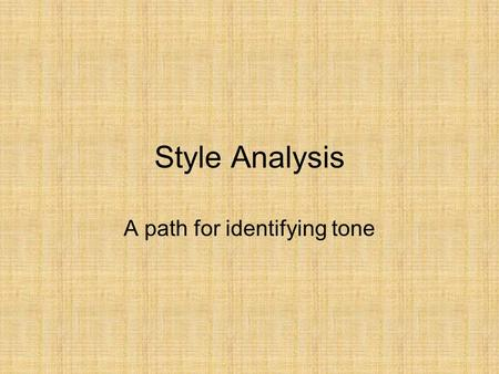 Style Analysis A path for identifying tone. Please memorize the following sentence: Toiling alone during lunch, Fred frantically developed indoor plants,