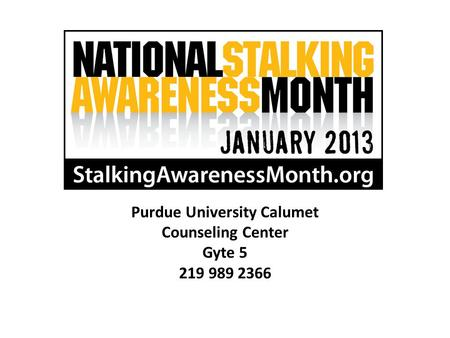 Purdue University Calumet Counseling Center Gyte 5 219 989 2366.