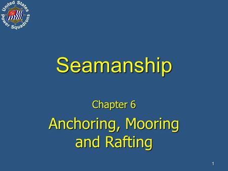 seamanship 4 Chapman school of seamanship, stuart, fl 3,516 likes 10 talking about this 670 were here founded by the late charles f chapman and the late glen.