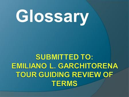 Glossary.  Ala carte menu – (HRM) a list of food items with corresponding prices from which a free choice is made and paid <strong>for</strong> per ordered item  Ad.