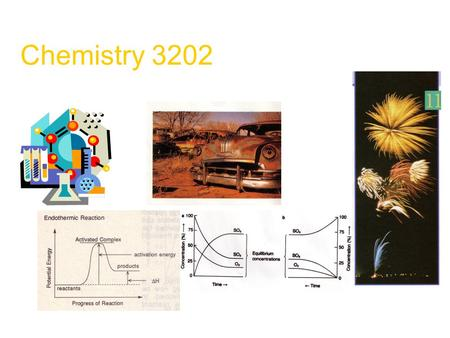 Chemistry 3202. Course Content Unit 1 – From Kinetics to Equilibrium Unit 2 – Acids and Bases Unit 3 – Thermochemistry Unit 4 – Electrochemistry.