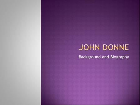 john donne research papers