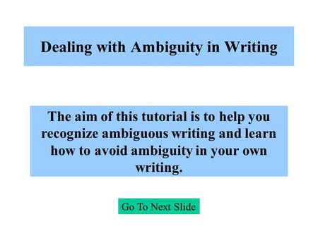 ambiguity in translation essay Lexical relations - lexical ambiguity - llm, ma irina giertz - essay - english - grammar, style, working technique - publish your bachelor's or master's thesis, dissertation, term paper or.