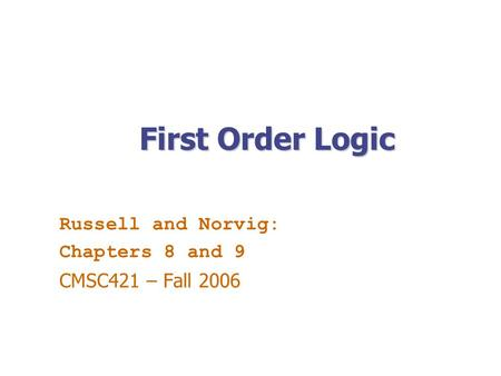 russell and norvig artificial intelligence pdf