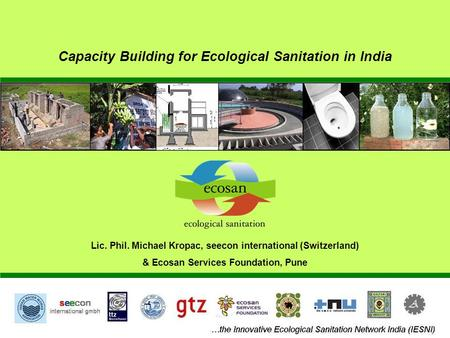 Capacity Building for Ecological Sanitation in India