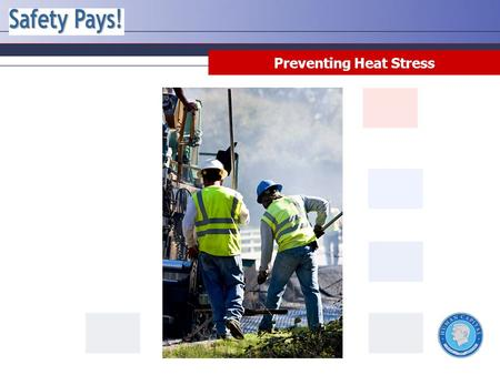 Preventing Heat Stress. Disclaimer This training material presents very important information. Your organization must do an evaluation of all exposures,