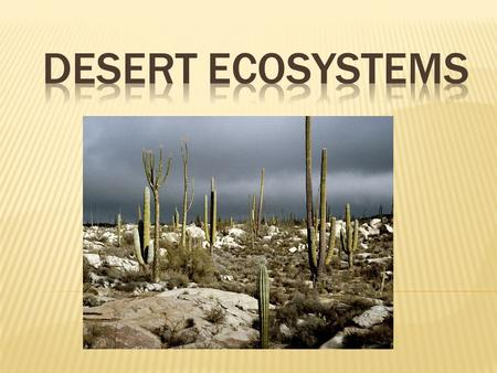  Deserts cover more than one fifth of the Earth's land, and they are found on every continent. A place that receives less than 10 inches (25 centimeters)