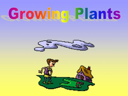 Growing Plants.