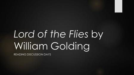 a complete analysis of lord of the flies by william golding This study guide and infographic for william golding's lord of the flies offer  summary and analysis on themes, symbols, and other literary devices found in  the.