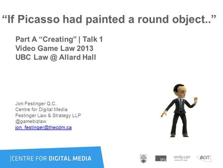 """If Picasso had painted a round object.."" Part A ""Creating"" 