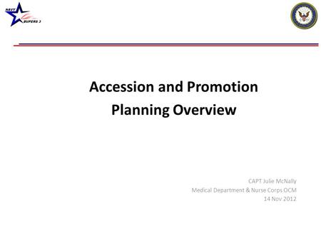 Accession and Promotion