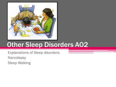 Other Sleep Disorders AO2