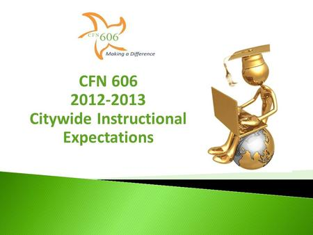 CFN 606 2012-2013 Citywide Instructional Expectations.