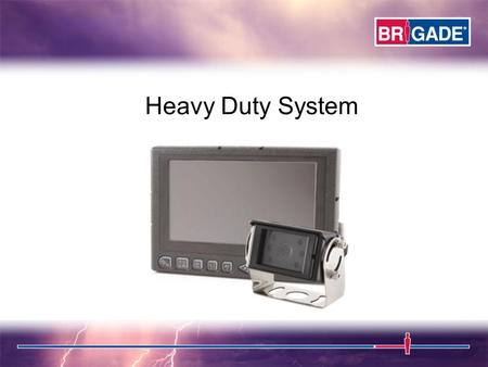 Heavy Duty System. BE-970FM HEAVY DUTY MONITOR Single/Split/Tri/Quad Mode Scan Feature High Resolution TFT LCD Adjust up/down and Mirror/Normal per channel.