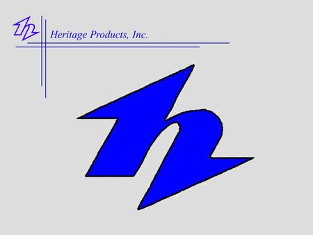 Heritage Products, Inc..