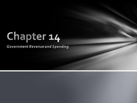 Government Revenue and Spending. Mandatory payments known as taxes make up the vast majority of government revenue. Principles of Taxes: - Benefits Received: