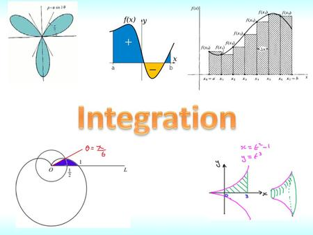 Integration It is sometimes possible to simplify an integral by changing the variable. This is known as integration by substitution. Use the substitution: