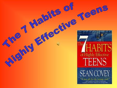 Highly Effective Teens