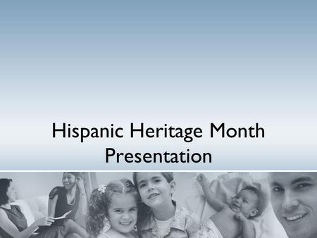 Hispanic Heritage Month Presentation. Introduction Hispanic Heritage Month is a national holiday in the USA. It is celebrated from September 15th to October.