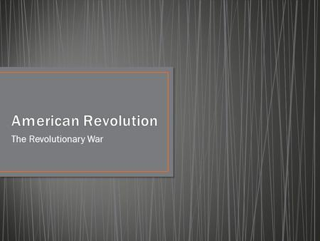 The Revolutionary War. Allegiance- loyalty Enlist- to join Grievance- a complaint Independence- the freedom to govern on one's own Negotiate- to talk.