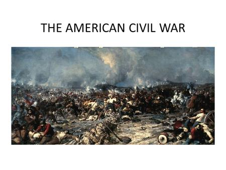 THE AMERICAN CIVIL WAR. The Fall of Fort Sumter Crisis at Fort Sumter – Commander Robert Anderson sent the message to Lincoln that Confederate leaders.