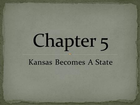 Kansas Becomes A State. January 29, 1861, Kansas became a state. A serious drought took place soon after Kansas grabbed statehood. Crops failed and drinking.