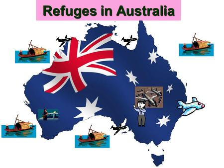 Refuges in Australia. What is a refugee? A refugee is someone who is outside their country and cannot go back there due to a fear of something such as,
