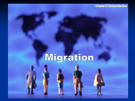 Terms you need to know….. Migration Migration: long-term movement of people from one region to another Emigration Emigration: (e for exit) people leave.