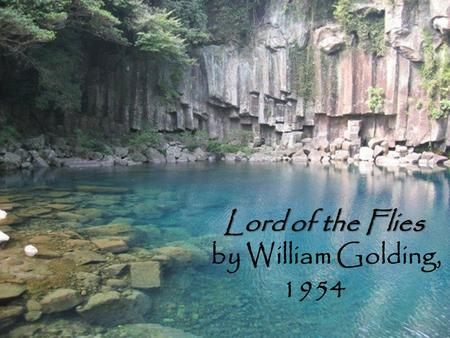 an analysis of democracy in lord of the flies by william golding In the novel lord of the flies written by william golding, the character named jack is the one who goes through the most change an island that was so clean.