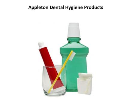 Appleton Dental Hygiene Products. Biotene products can be found at all drug stores (including Wal-Mart) in the pharmacy section Tooth Paste- Brush with.