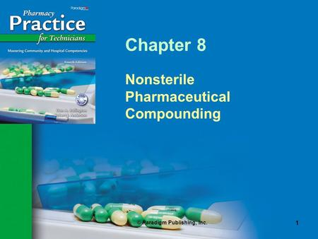 Nonsterile Pharmaceutical Compounding