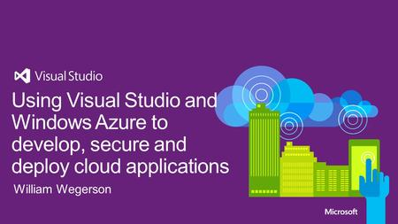 Introduction to the Cloud OS Windows Azure Overview Visual Studio Tooling for Windows Azure Scenarios: Dev/Test Web Mobile Hybrid.