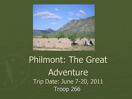 philmont dating Philmont recruiting video  i'm dating myself and since i don't have kids am probably out of touch with today's young adults so this may be what it takes .