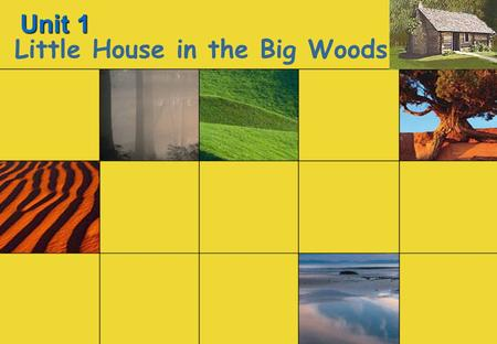 Unit 1 Little House in the Big Woods. Cultural background: Westward Movement in America Results of Westward Movement.