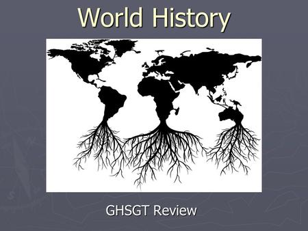 World History GHSGT Review.