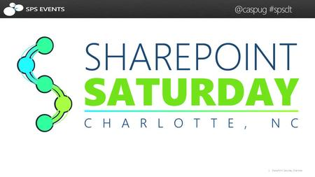 1 SharePoint Saturday #spsclt. 2 SharePoint Saturday #spsclt How Task Aggregation and Work Management Works in SharePoint.