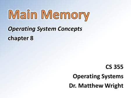 Background A process generates a stream of memory requests. Memory access takes many CPU clock cycles, during which the processor may have to stall as.